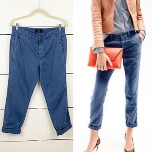 J. CREW Sunday Slim Chino Blue Size 4